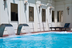 Spa swimming-pool Stock Images