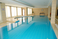 SPA swimming pool in popular hotel Royalty Free Stock Photo