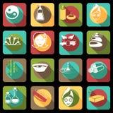 Spa symboler sänker Arkivfoto