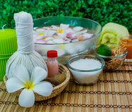 Spa and thai massage Stock Photos