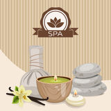 Spa theme object. Royalty Free Stock Image
