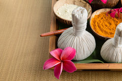Spa theme objects Royalty Free Stock Images