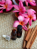 Spa therapy. This picture shows a tropical spa therapy with some plumeria flower and cinnamons that used for spa treatment stock images