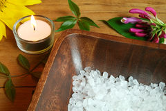 Spa therapy for beauty Stock Photos