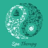 Spa therapy concept Stock Images