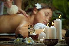Spa therapy Stock Images