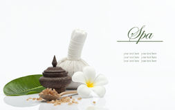 Spa things on white Royalty Free Stock Photography