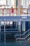 Spa time: Heviz thermal lake and swimming pool spa resort Stock Photos