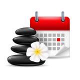 Spa time icon Royalty Free Stock Photos