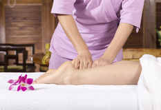 Spa by touch Royalty Free Stock Photos