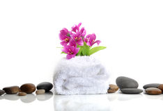 Spa towel Stock Image