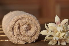 Spa, towel Stock Photography