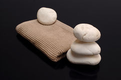 Spa towel Stock Images
