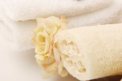 Spa towels Stock Photography