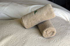 Spa towels Royalty Free Stock Photography