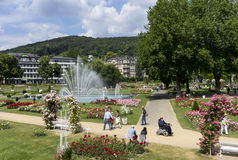 Spa town - Bad Kissingen Royalty Free Stock Images