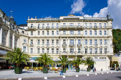 Spa town Karlovy Vary, Czech republic, Europe Stock Photography