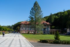 Spa town of Luhacovice. Stock Photos
