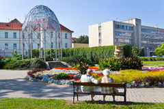Spa town Teplice, Bohemia, Czech republic, Europe Royalty Free Stock Images