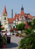 Spa town Trencianske Teplice Royalty Free Stock Image