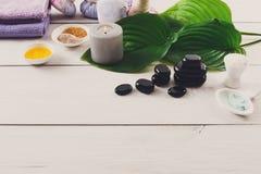 Spa treatment.Aromatherapy.Essential Oil. Royalty Free Stock Photo