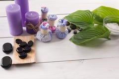 Spa treatment.Aromatherapy.Essential Oil. Stock Photo