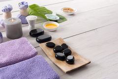 Spa treatment.Aromatherapy.Essential Oil. Royalty Free Stock Images