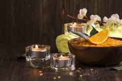 SPA treatment  composition Stock Photography