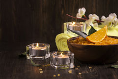 SPA treatment  composition Stock Image