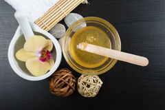 Spa treatment essentials Stock Image
