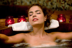 Spa Treatment in the Furo Stock Image