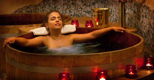 Spa Treatment in the Furo Stock Images