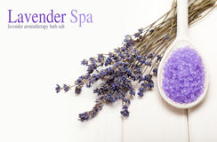 Spa treatment - Lavender aromatherapy Stock Images