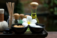 Spa treatment and product for female feet and hand spa relax and healthy care, Thailand Stock Image