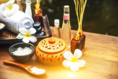 Spa treatment and product for health. Royalty Free Stock Image