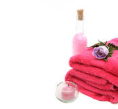 Spa treatment products Stock Photography