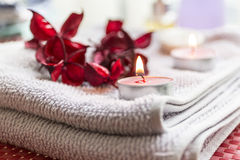 Spa treatment: ready for relax Royalty Free Stock Image