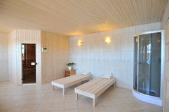 Spa Treatment Room stock photo