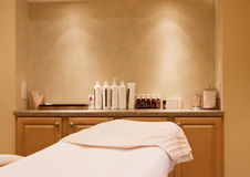 Spa Treatment Room. In Warm Tones Stock Photography