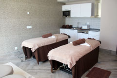 Spa treatment room Stock Image