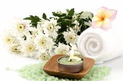 Spa treatment with sea salt. Stock Photography