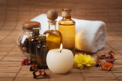 Spa Treatment Still Life Stock Photos