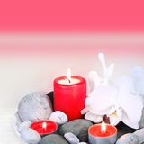 Spa Treatment Still Life Square Royalty Free Stock Photos