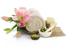 Spa treatments Royalty Free Stock Images