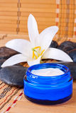 Spa treatments with cream Stock Photography