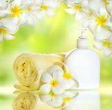 Spa Treatments. Lotion stock photos