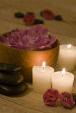 Spa Tretament and Relaxation Royalty Free Stock Photo