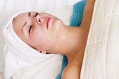 spa twarzy Zdjęcie Royalty Free