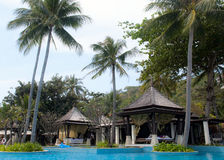 Spa villas Royalty Free Stock Photography