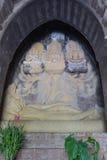 Spać Vishnu marzy tworzenie Obraz Stock